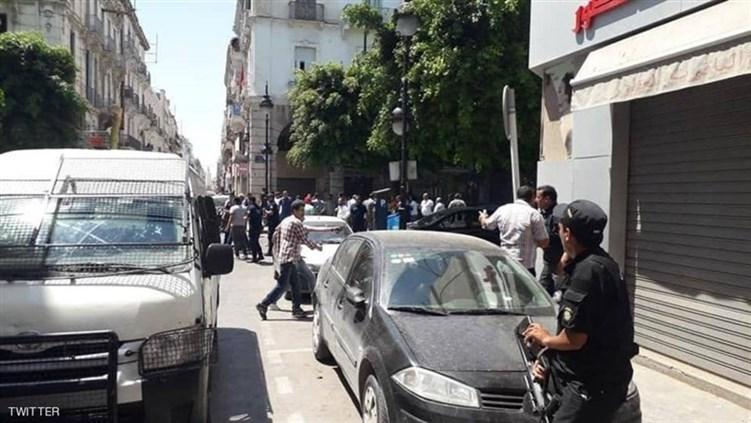 تونس.. انفجاران متتاليان يسقطان ضحايا في قلب العاصمة