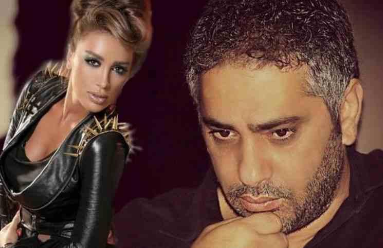 "مايا دياب تفتح نيرانها على فضل شاكر وتصفه بـ "" إرهابي وقح """