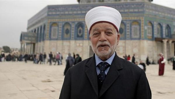 المفتي: ما يحدث في فلسطين تطهير عرقي وعنصري بغيض
