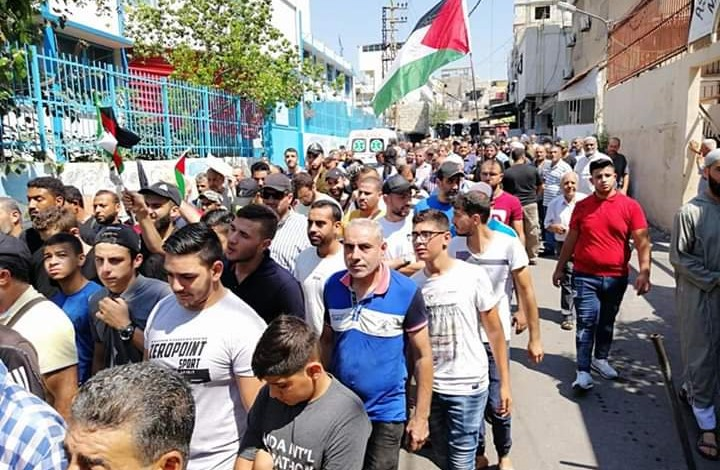إضراب في مخيمات الفلسطينيين بلبنان.. والحكومة تشكل لجنة