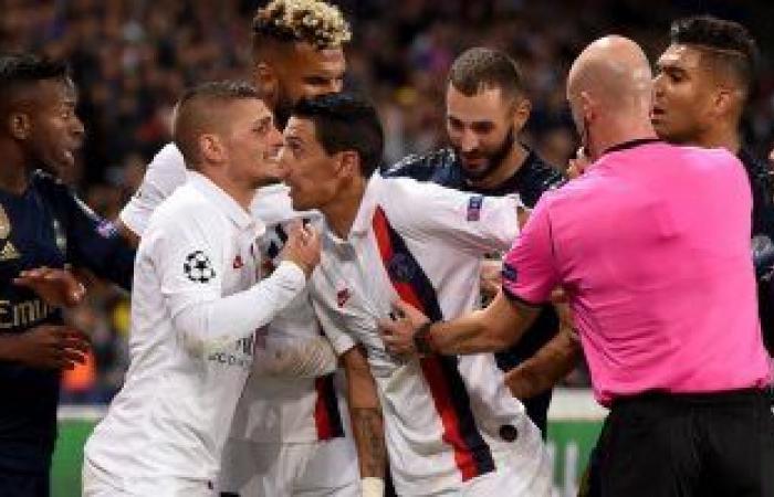 هزيمة مذلة لريال مدريد من باريس سان جيرمان في أبطال أوروبا