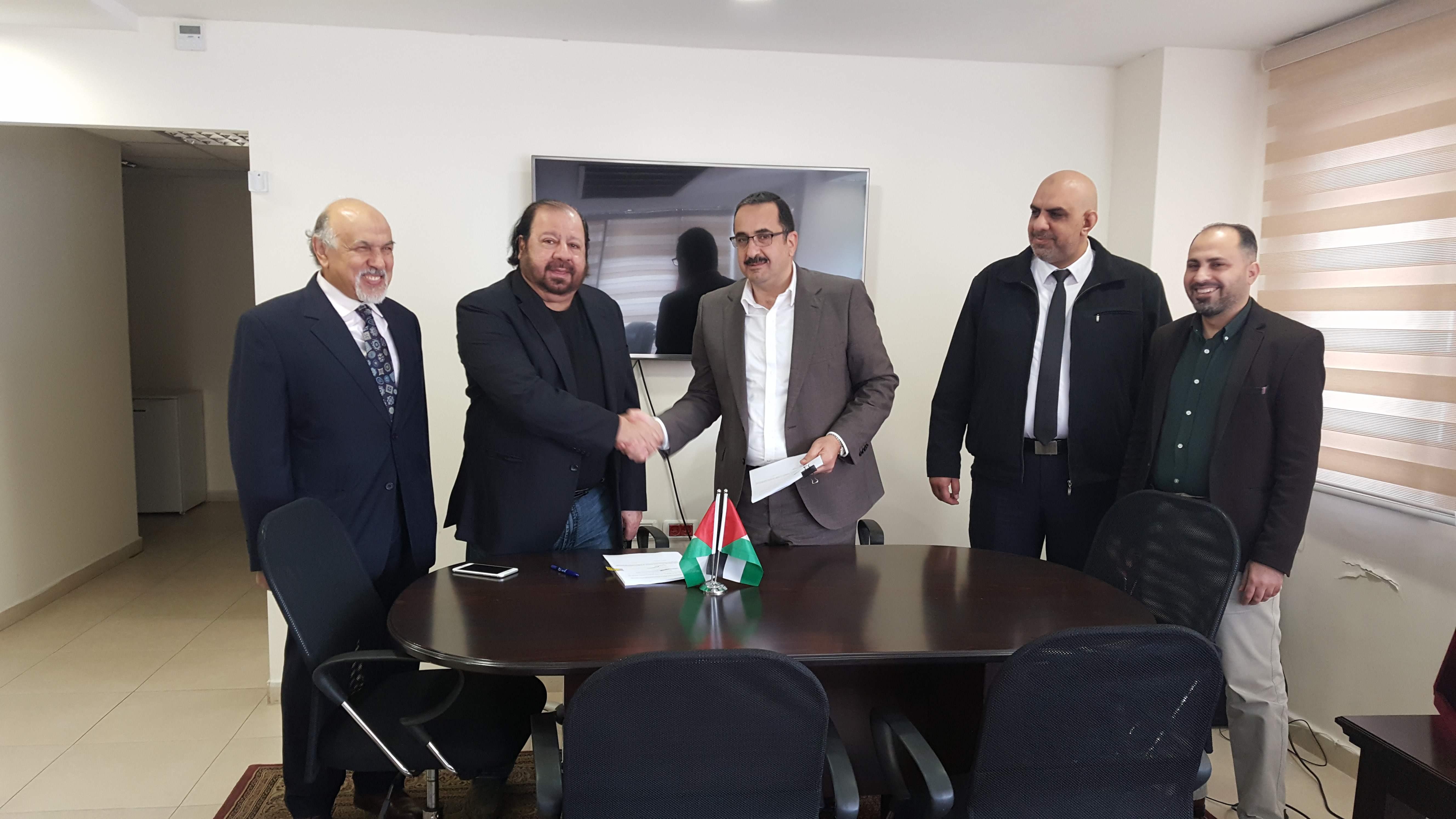 توقيع اتفاقية محطة توليد طاقة بديلة في محافظة طوباس