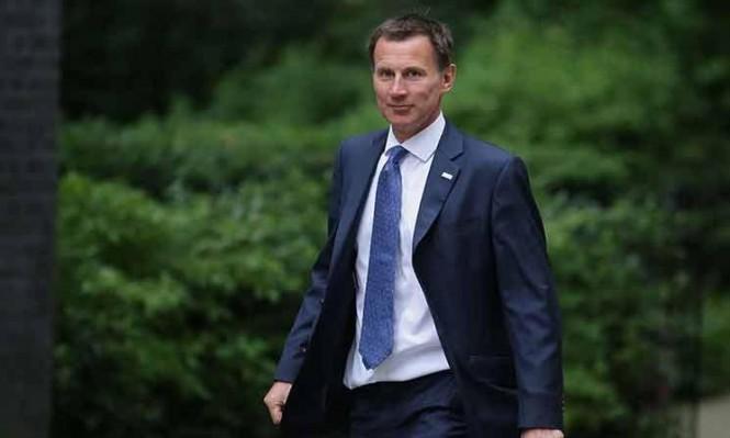 تعيين هانت وزيرا للخارجية البريطانية بعد استقالة جونسون