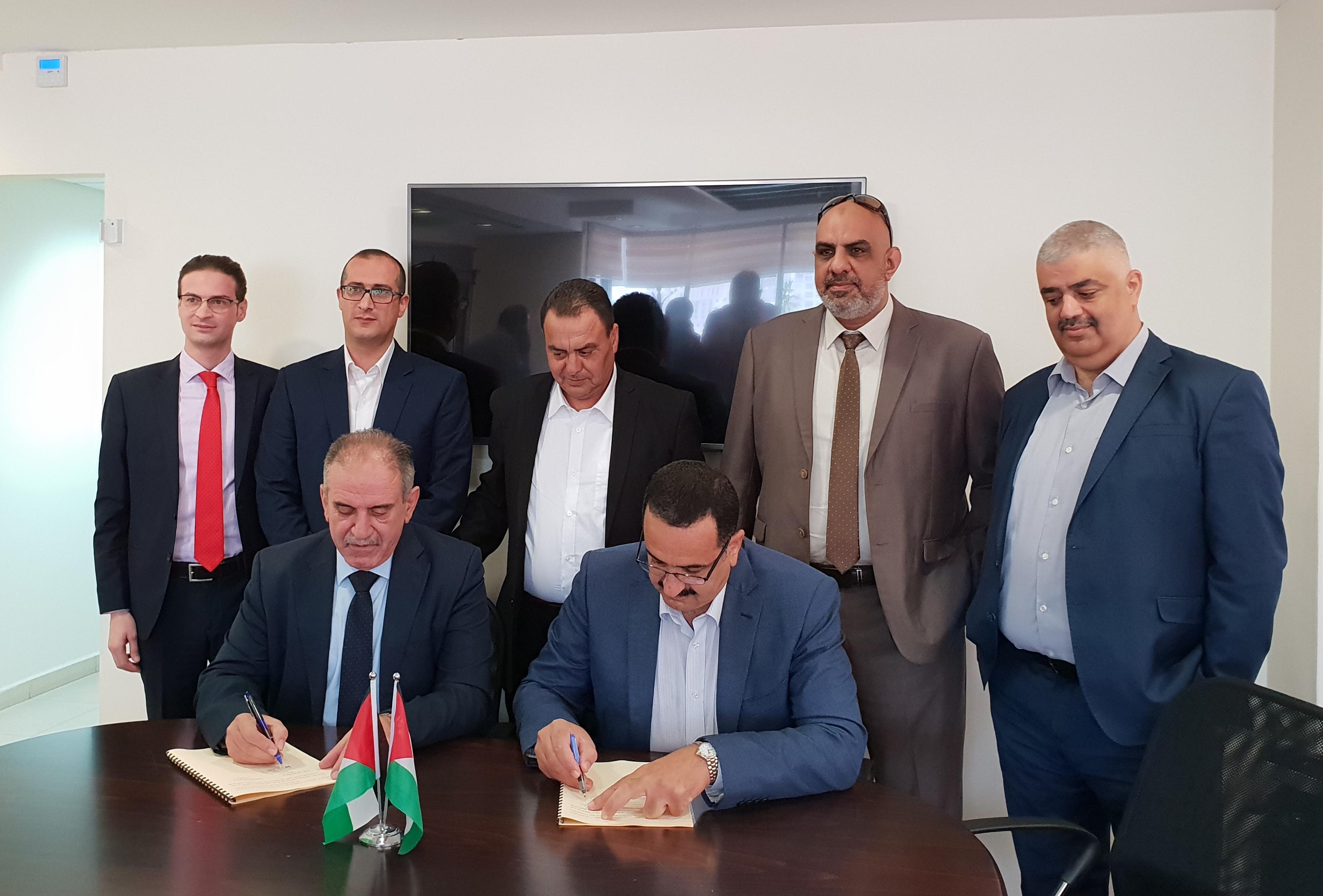 شركة النقل الوطنية توقع اتفاقية لتزويد شركة توزيع كهرباء الشمال بحاجتها من الكهرباء