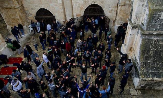 تقرير إسرائيلي: مصلى باب الرحمة سيغلق لأشهر ويحول لمكاتب