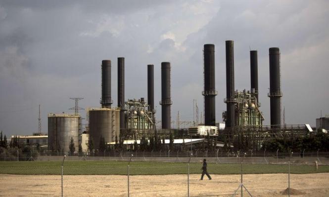 الاحتلال يوقف الوقود عن محطة الكهرباء بغزة