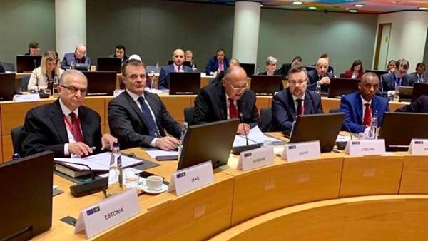 الاجتماع الوزاري العربي الأوروبي يؤكد أهمية قضية فلسطين