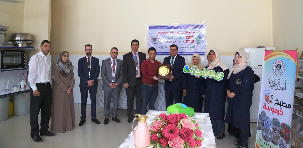 جوال تفتتح مشاريع حيوية في محافظة خانيونس