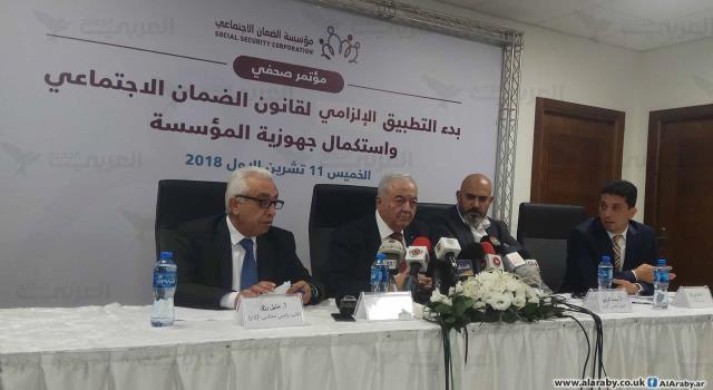 أبو شهلا: مؤسسة الضمان جاهزة لتطبيق القانون