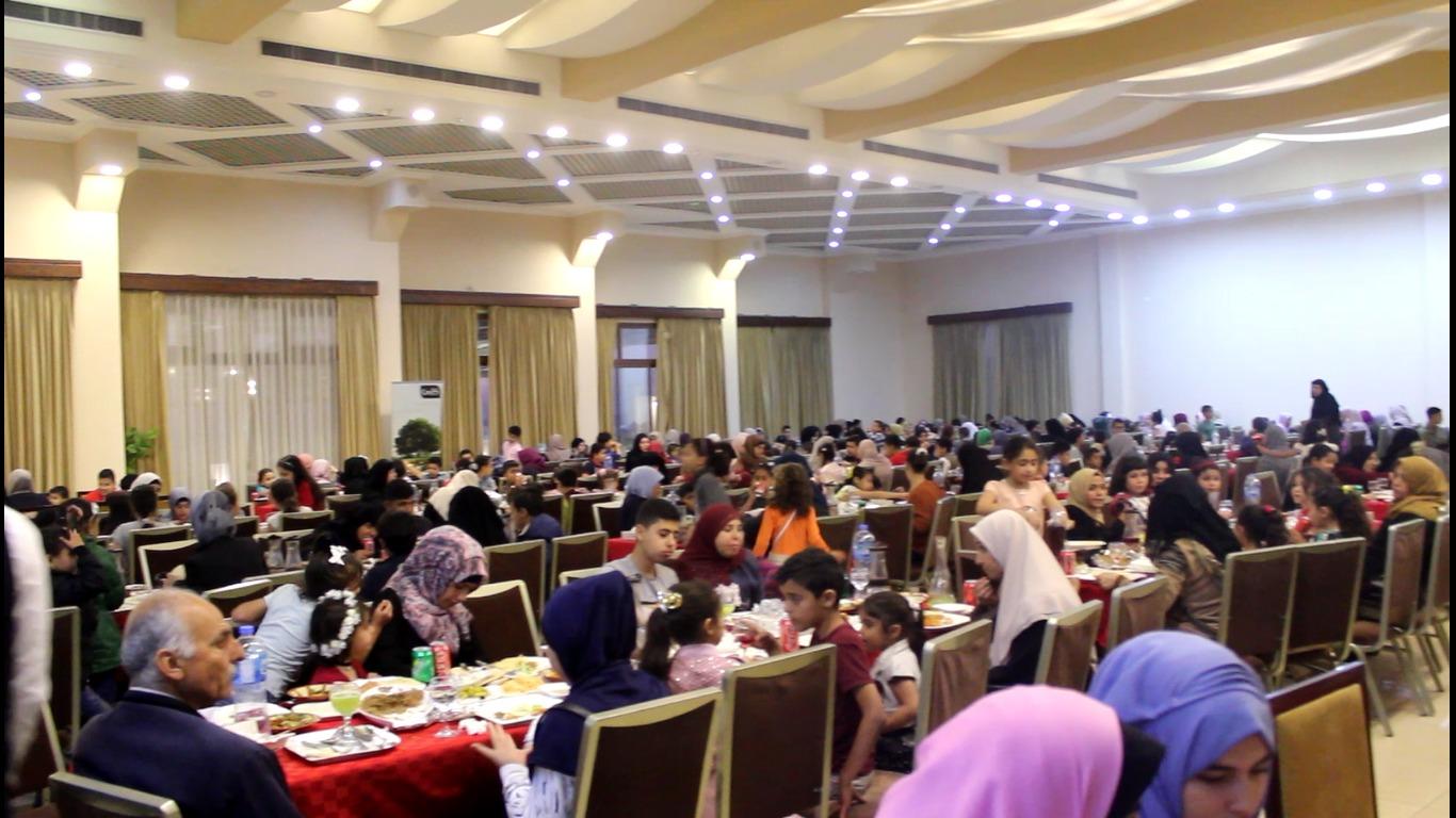 غزة: المشروبات الوطنية تشارك أكثر من 400 طفل يتيم إفطارات رمضانية