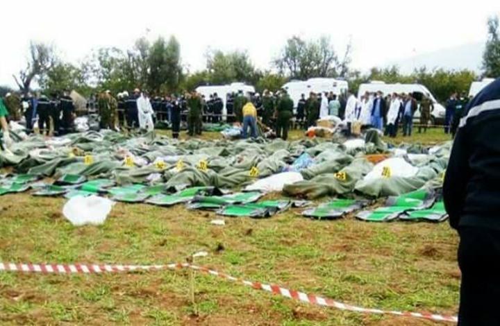 """الدفاع الجزائرية: """"عائلات"""" العسكرييين ضمن قتلى الطائرة"""