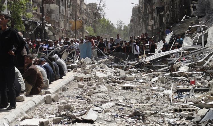 الجيش السوري يبسط سيطرته على مخيم اليرموك