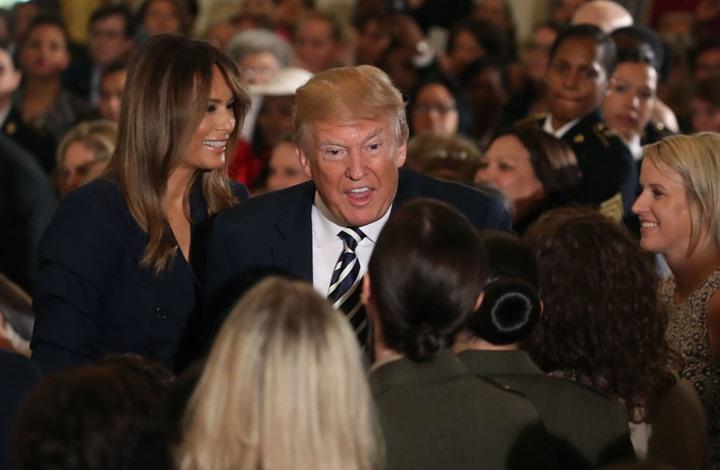 """""""علاقات ترامب النسائية"""" تضع أمريكا في أزمة دستورية"""