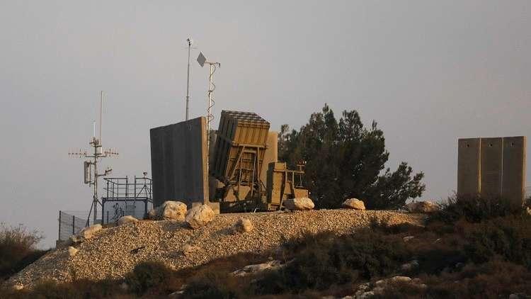 """إسرائيل تنشر """"القبة الحديدية"""" في الجنوب"""