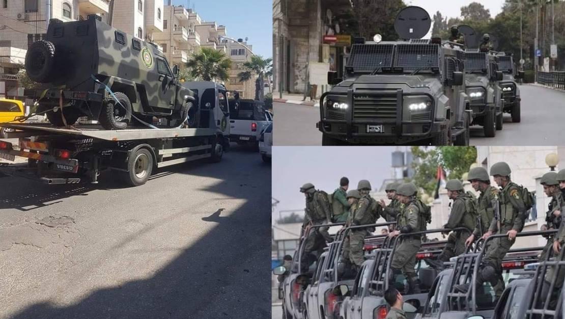 بالصور:  وصول مدرعات ضد الرصاص للأجهزة الأمنية