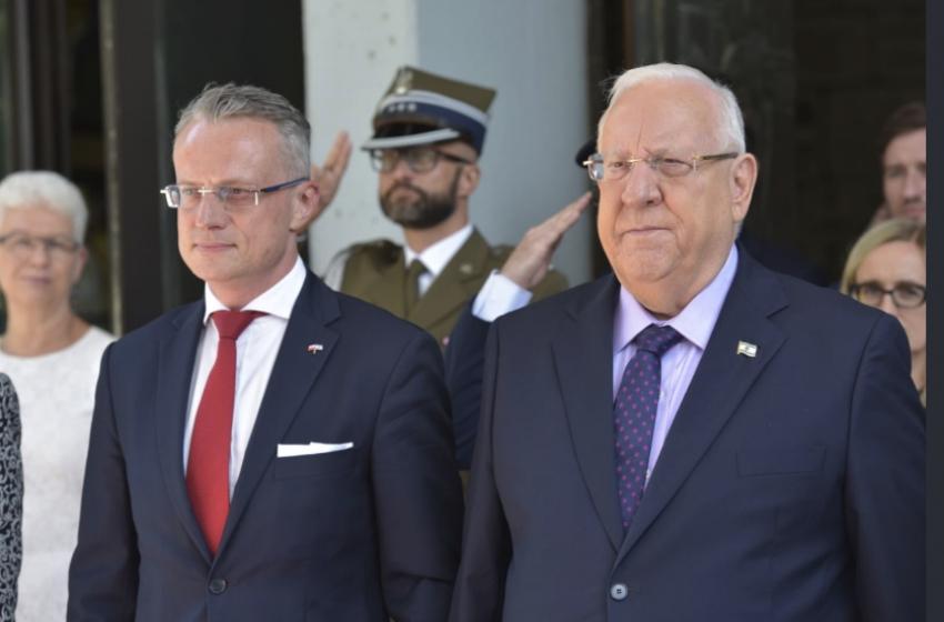لماذا بصق شخص إسرائيلي على السفير البولندي؟
