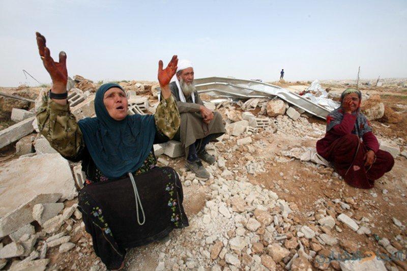 الاحتلال يستعد لاخلاء تجمع الخان الاحمر بالقوة