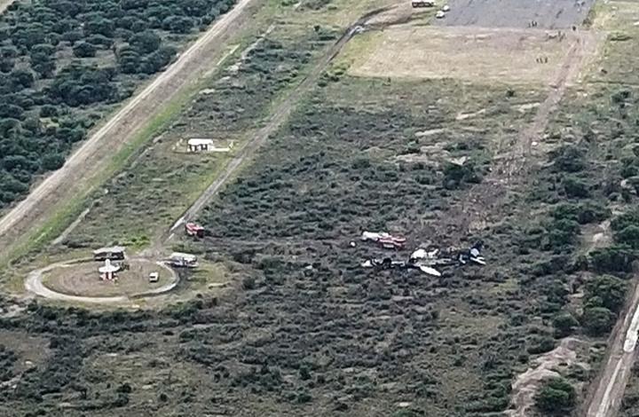 تحطم طائرة تقل أكثر من 97 راكبًا في المكسيك