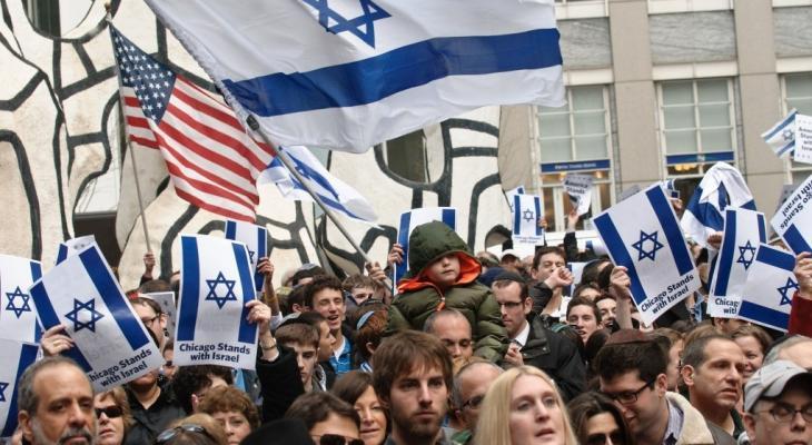 """استطلاع رأي يكشف موقف الجمهور الأمريكي من """"إسرائيل"""""""