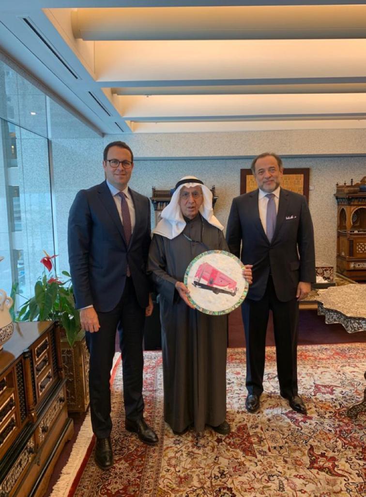 هاشم الشوا: شرحنا لرجال الأعمال والمستثمرين في الكويت الآفاق الواعدة للاقتصاد الفلسطيني