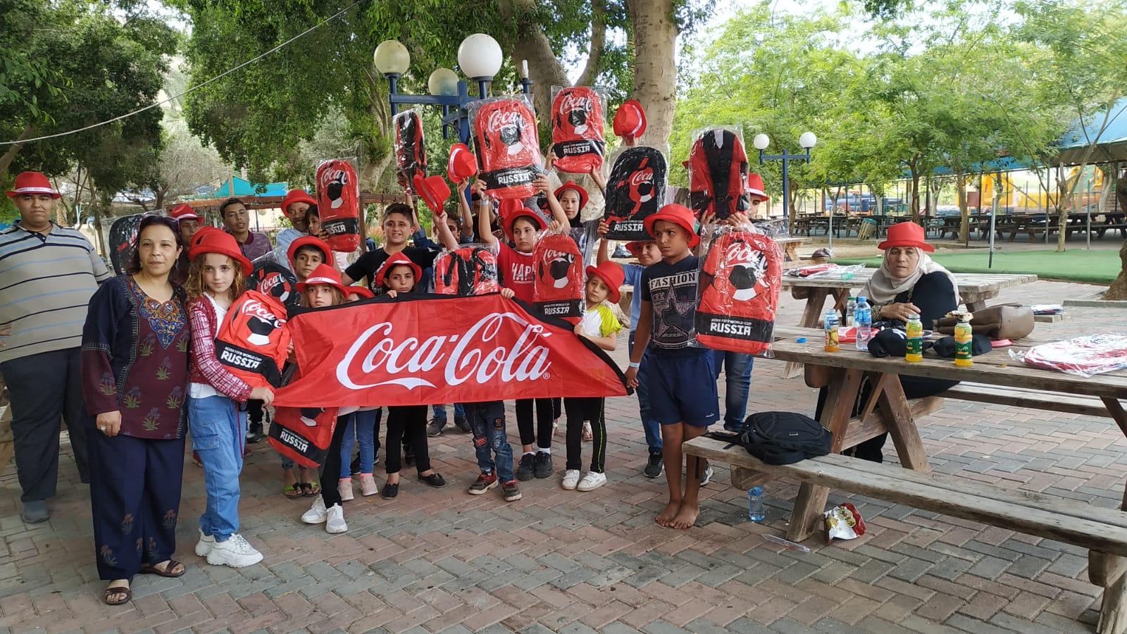 """بالتعاون مع """"صحة نابلس"""" و""""أصدقاء الثلاسيميا"""": المشروبات الوطنية ترعى يوما ترفيهيا لأطفال الثلاسيميا"""