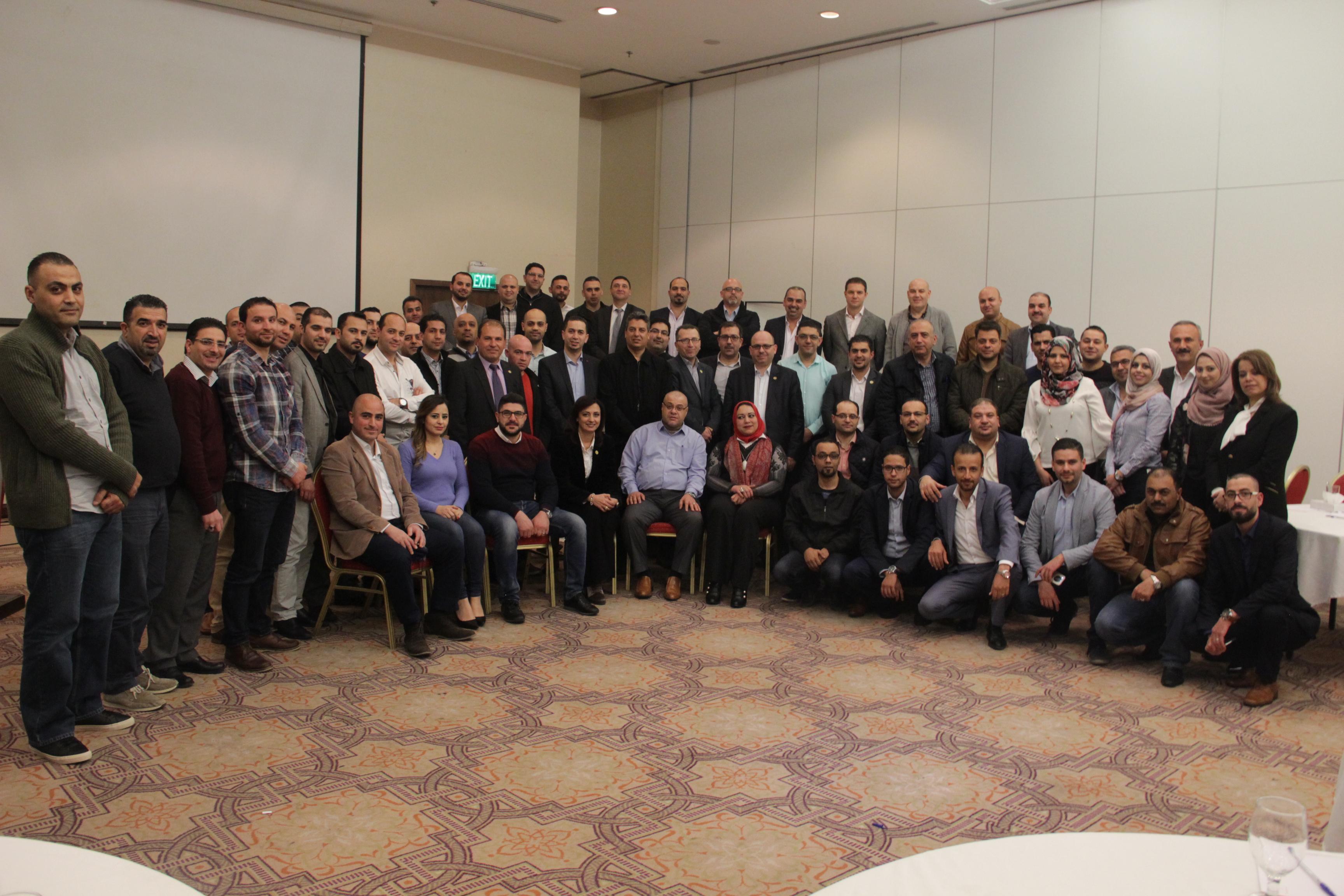 """""""بنك القدس"""" يعقد إجتماعه السنوي لمناقشة خطط تطويرالأعمال للعام 2018"""
