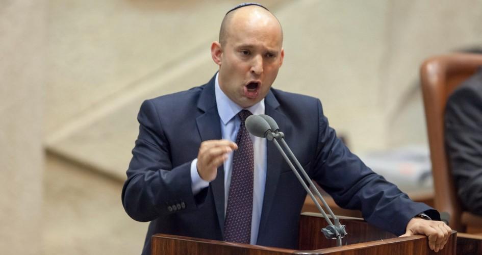 """""""بينيت"""": قريباً ستصبح الضفة الغربية جزءاً من """"إسرائيل"""""""