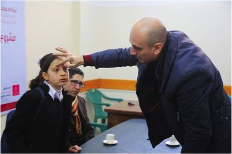 """بنك فلسطين يقوم بزيارات تفقدية لعدد من المشاريع الخاصة بالأيتام المستفيدين من برنامج """"وجد"""" الذي ينفذه لرعاية أيتام القطاع بالشراكة مع مؤسسة التعاون"""