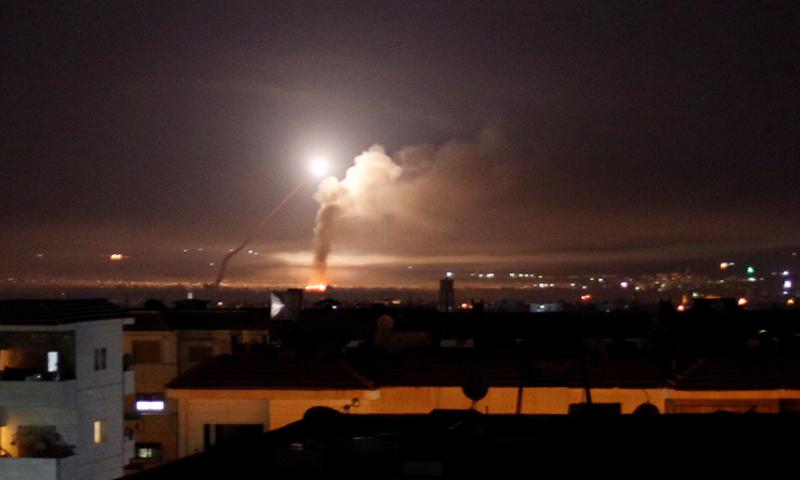 سانا: قصف إسرائيلي على مطار دمشق