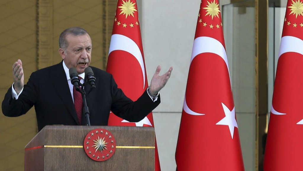 أردوغان: سننقل قضية هضبة الجولان إلى الأمم المتحدة