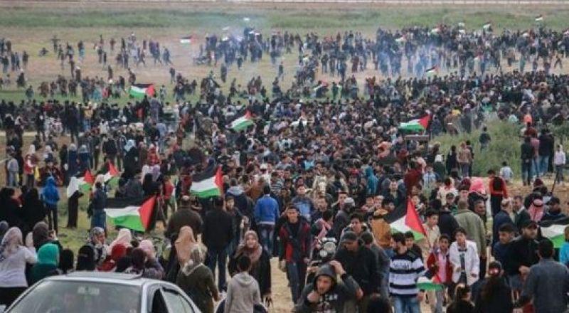 بدء توافد المواطنين الى الحدود الشرقية لقطاع غزة
