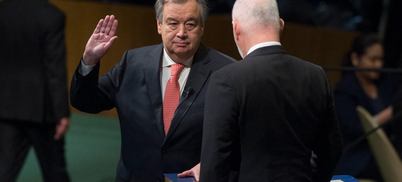 """غوتيريش يدعو إلى تفادي """"نزاع جديد مدمر"""" في غزة"""