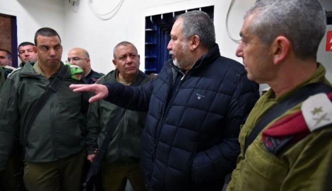 """ليبرمان: """" قيادة حماس آكلي لحوم البشر وتعرضوا لهزيمة ضاربة """""""