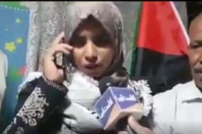 الرئيس يهاتف المحررة ابو داهوك