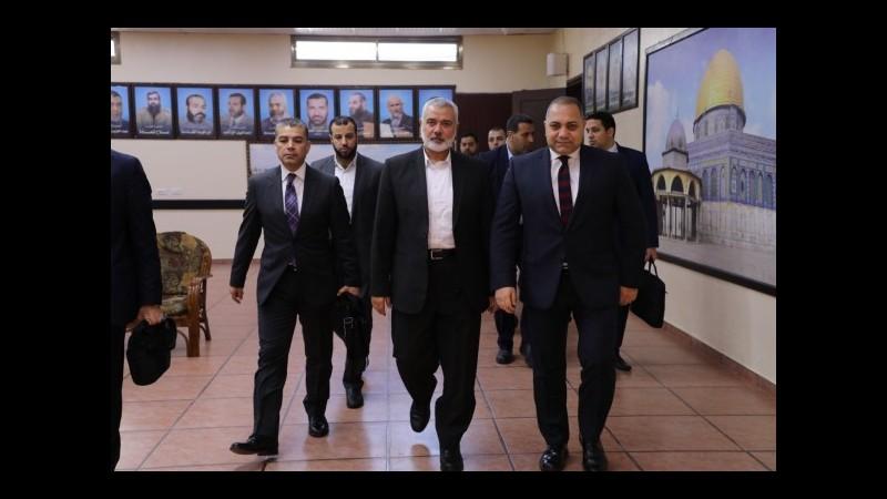 حماس تكشف تفاصيل المقراح المصري للمصالحة مع فتح
