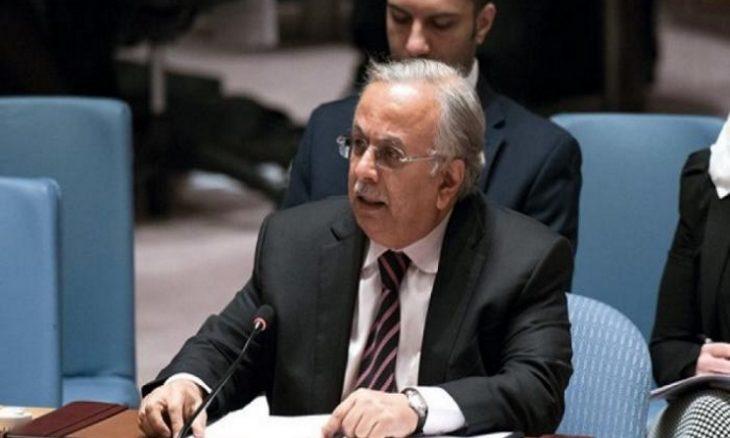مندوب السعودية في الأمم المتحدة يشجب إطلاق الصواريخ على المستوطنات الإسرائيلية- (فيديو)