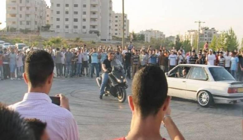 شرطة رام الله تلاحق المركبات المزعجة