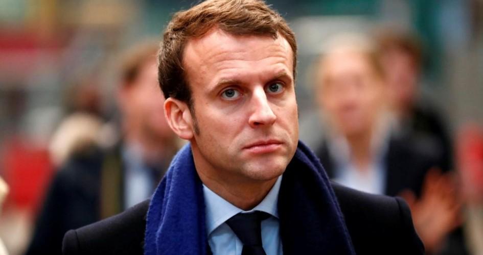 """أول تعليق من ماكرون على """"أحداث باريس"""""""