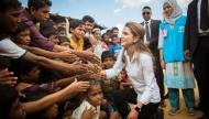 #الملكة رانيا #مسلمين #الروهينغا
