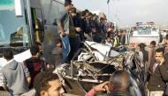 """مصر.. حادث """"مفجع"""" يخلف عشرات القتلى والجرحى على طريق رئيسي"""