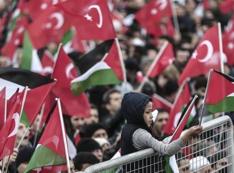 أردوغان: لن نترك القدس تحت رحمة قتلة الأطفال