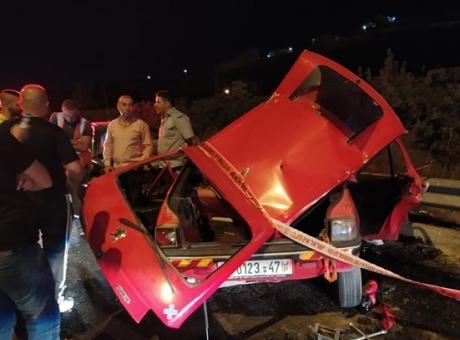 فاجعة بني نعيم: مصرع 4 مواطنين بحادث سير