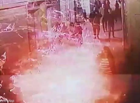 تفاصل لحظة تنفيذ تفجير حي الجمالية بوسط القاهرة