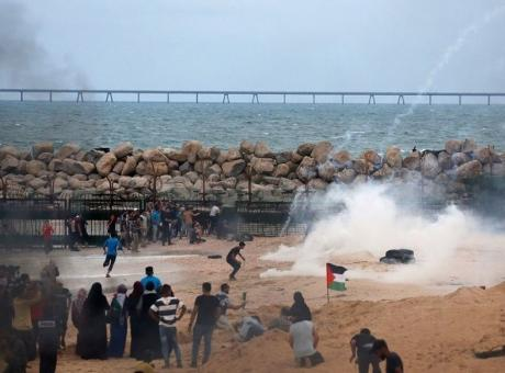 توافد المواطنين للمشاركة بالحراك البحري