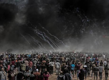 """الغزيون يستعدون لجمعة """"معا غزة تنتفض والضفة تلتحم"""""""
