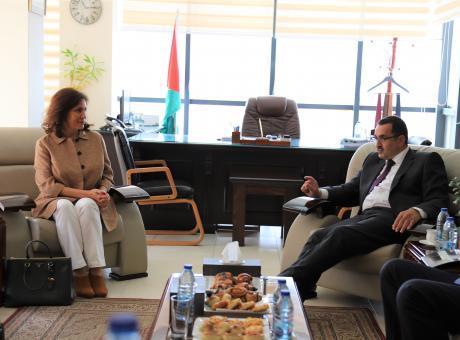 الأردن وفلسطين يجددان عقد تزويد أريحا بالكهرباء