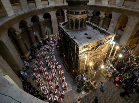 فتح: القرارات الاسرائيلية بحق الكنائس تستهدف الوجود المسيحي في القدس