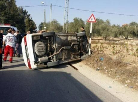 مصرع مواطنة في حادث سير جنوب شرق بيت لحم