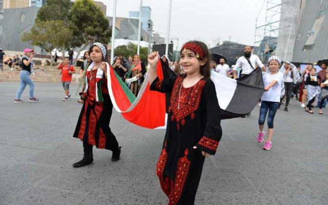 ملبورن الأسترالية تحتفل بالذكرى التاسعة والعشرين لإعلان استقلال فلسطين