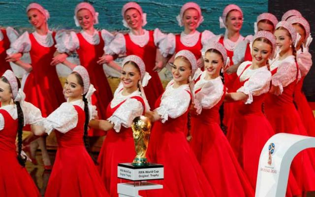 باليه روسي ترحيبا ببطولة العالم التي ستقام في روسيا
